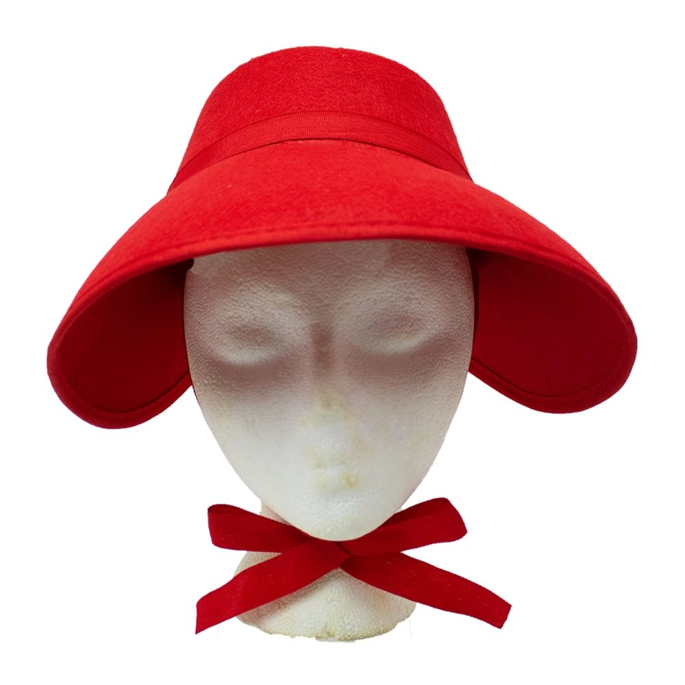 Picture of Red Bonnet Hat
