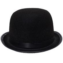 Picture of Black Bowler Hat