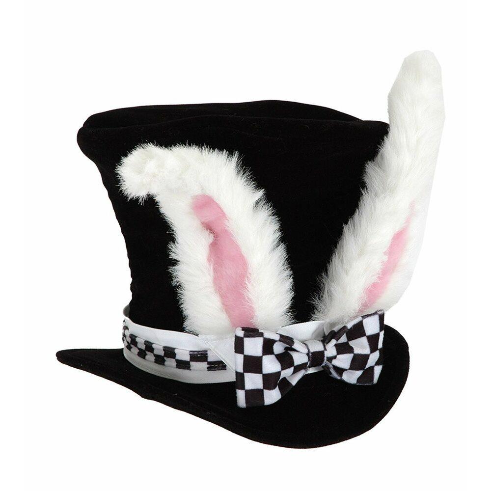 Picture of Alice in Wonderland White Rabbit Hat