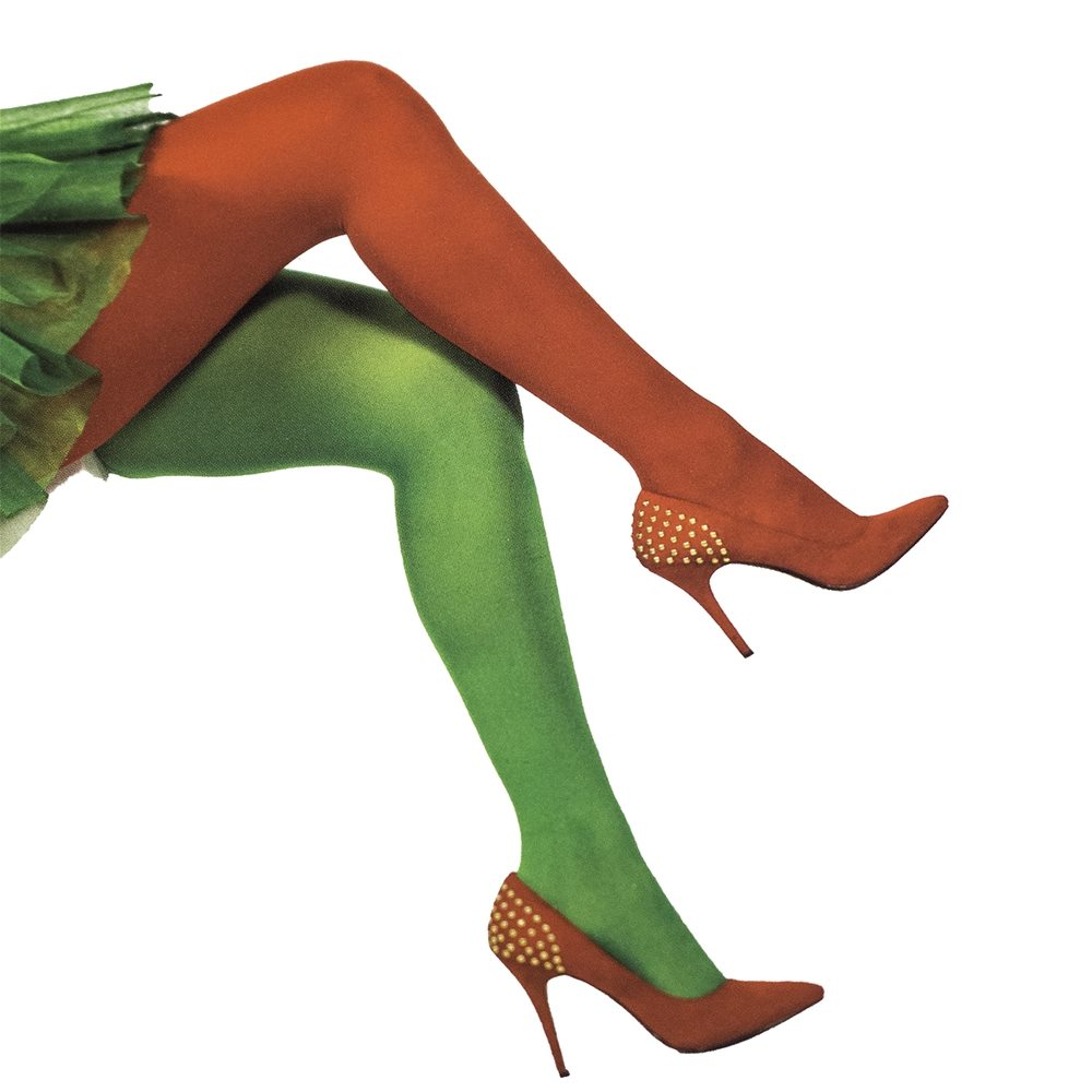 Picture of Red & Green Tights