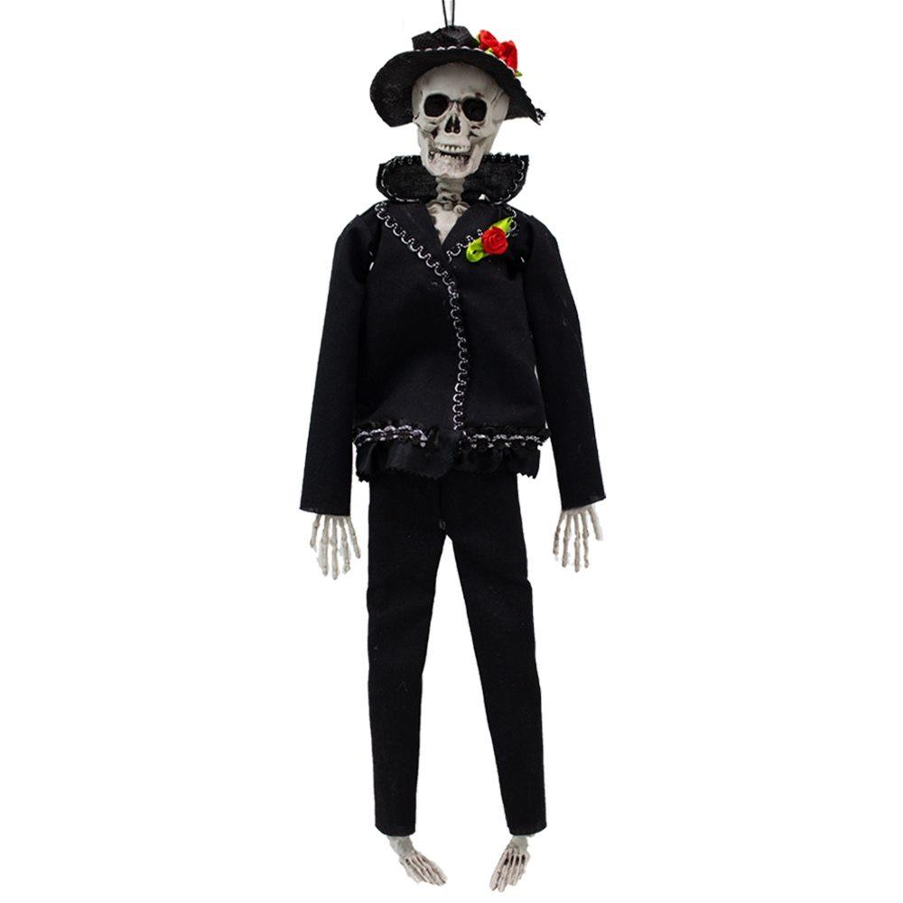 Picture of Hanging Skeleton Groom 16in