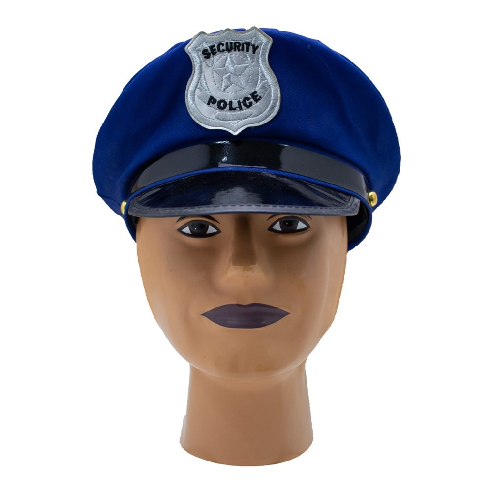 Picture of Blue Police Officer Hat