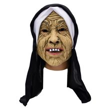Picture of Old Nun Latex Mask