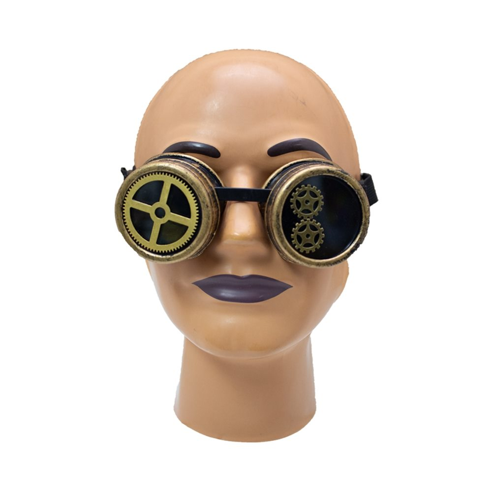 Picture of Gold Steampunk Goggles