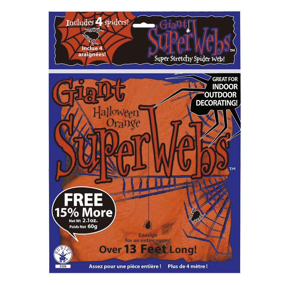 Picture of Orange Glow Spiderweb 13ft