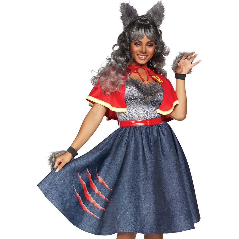 Picture of Teen Wolf Adult Womens Costume