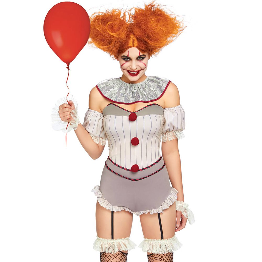 Picture of Pennywise Sexy Clown Adult Womens Costume