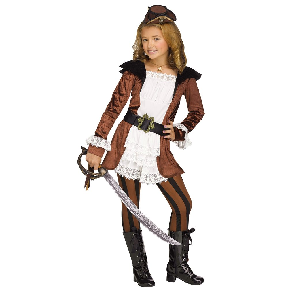 Picture of Pacific Pirate Girl Child Costume