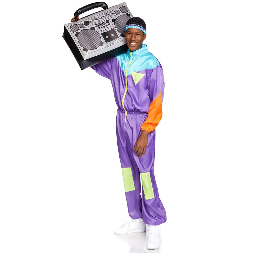 Picture of Awesome 80s Tracksuit Adult Mens Costume
