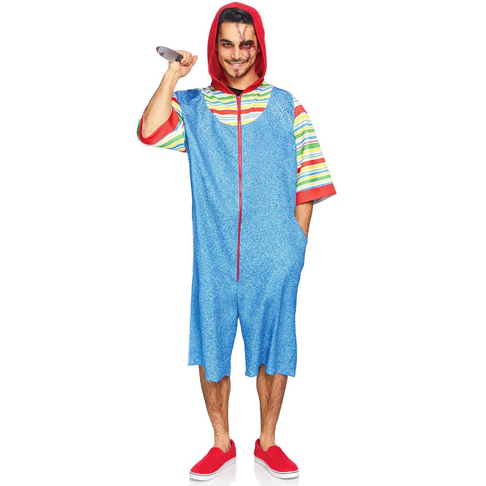 Picture of Creepy Chucky Killer Doll Adult Mens Costume