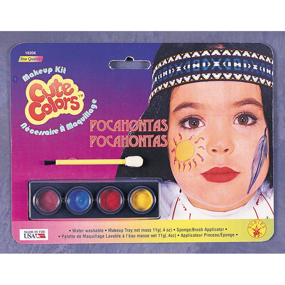 Picture of Pocahontas Child Makeup Kit
