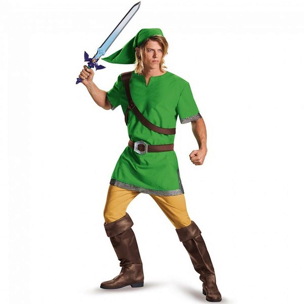 Picture of Zelda Classic Link Adult Mens Costume