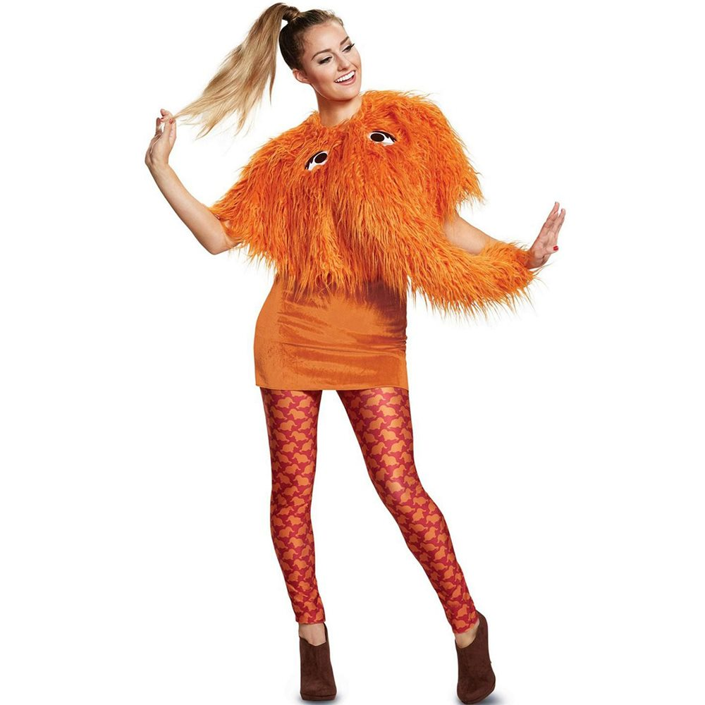 Picture of Sesame Street Deluxe Snuffy Adult Womens Costume