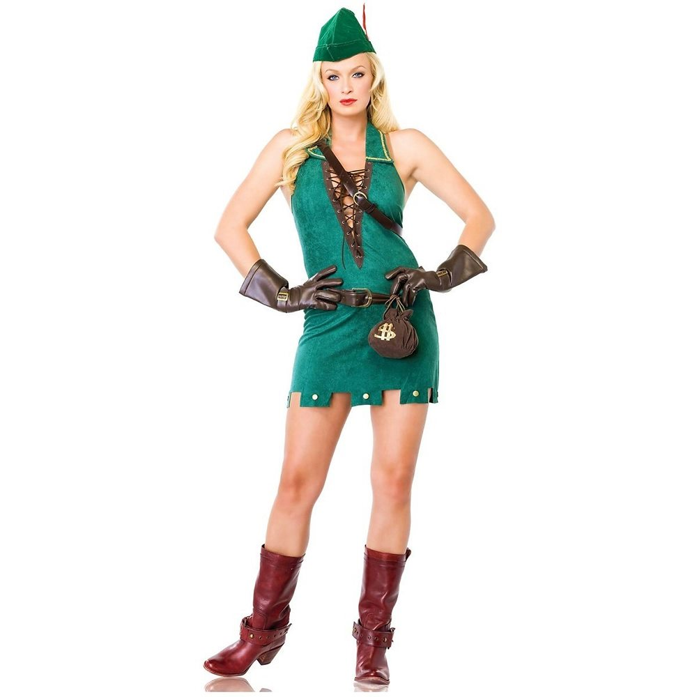 Picture of Robin D. Rich Adult Womens Costume