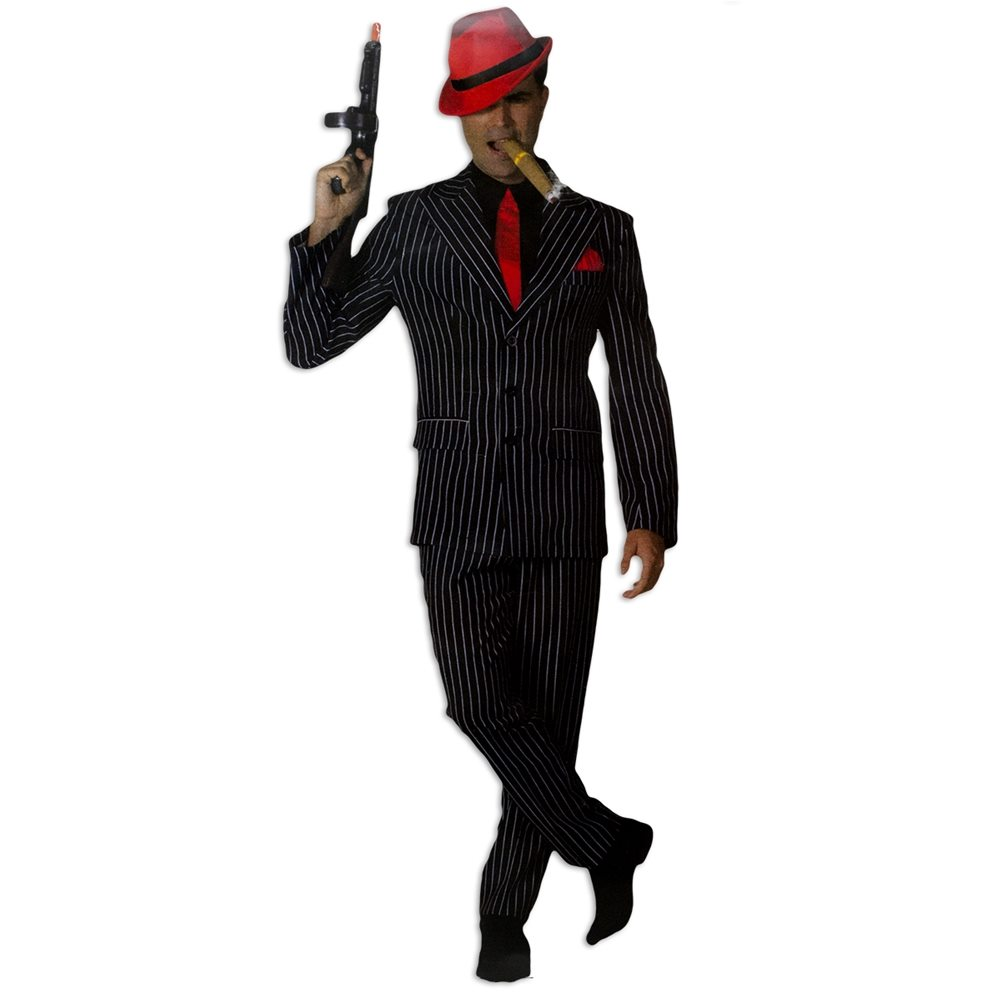 Picture of Real Gangsta Suit Adult Mens Costume