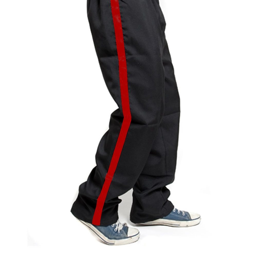 Picture of Tuxedo Pants with Red Stripe