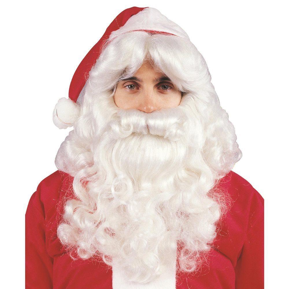 Picture of Deluxe Santa Beard & Wig Set